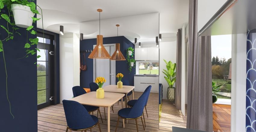 dom 35m2 Interior Design Render
