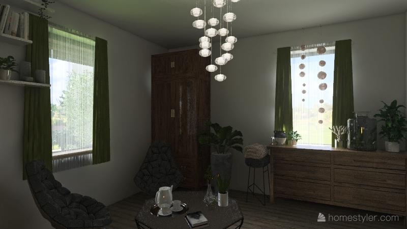 Dům Pomněnky Interior Design Render