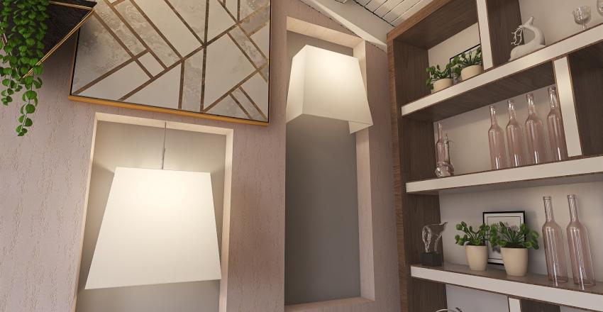 glitch Interior Design Render