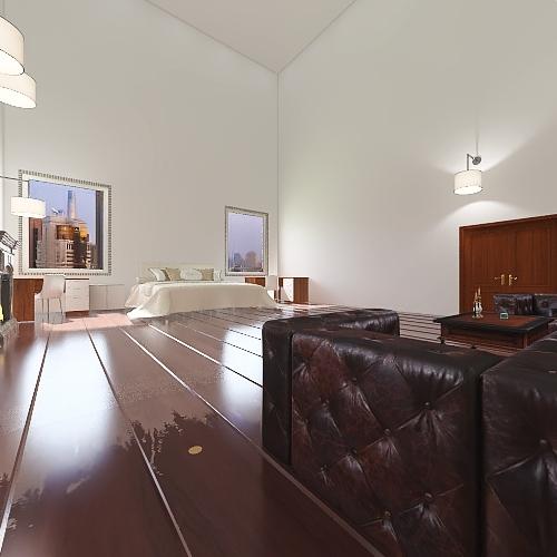 2.9 Million Dollar Mansion in Edmonton Alberta Canada Interior Design Render