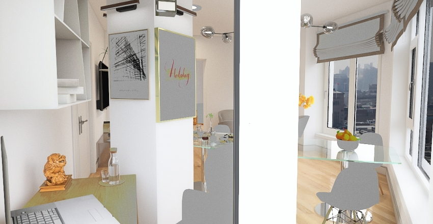 SWEET HOME by Yasha Guzeyev Interior Design Render
