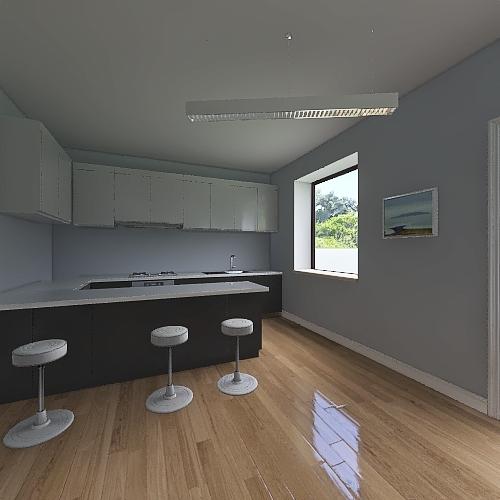 дом с 1 Interior Design Render