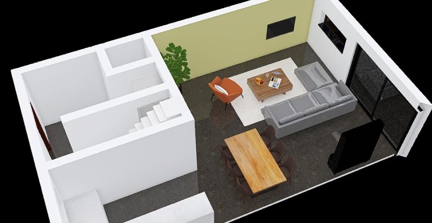 2. Nieuwe woning Ard y Ties Interior Design Render