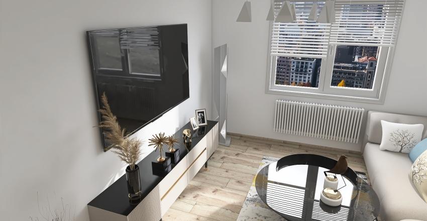 3 - izbový byt, J. Bottu, RA, 2020 Interior Design Render