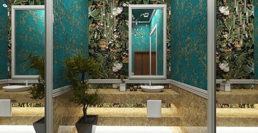 #HSDA2020Commercial - SELA-rome Hollywood Glam in Botanical Concept Interior Design Render