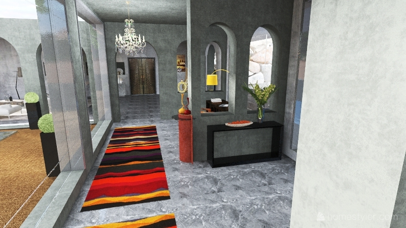 arcades Interior Design Render