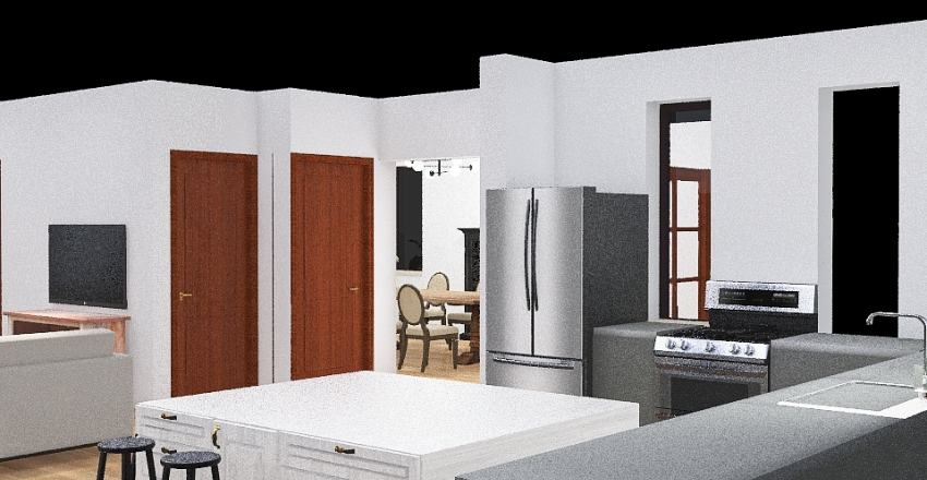 1290 Beaverdale Interior Design Render