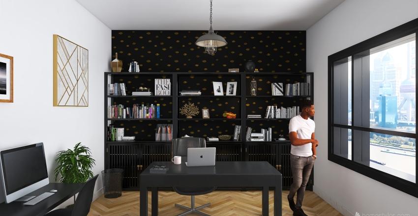 Workspace_Design Interior Design Render