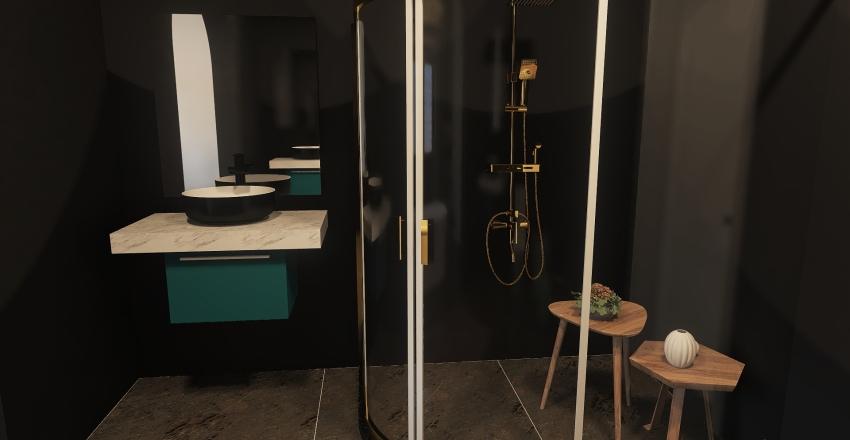 Harry Bathroom Interior Design Render