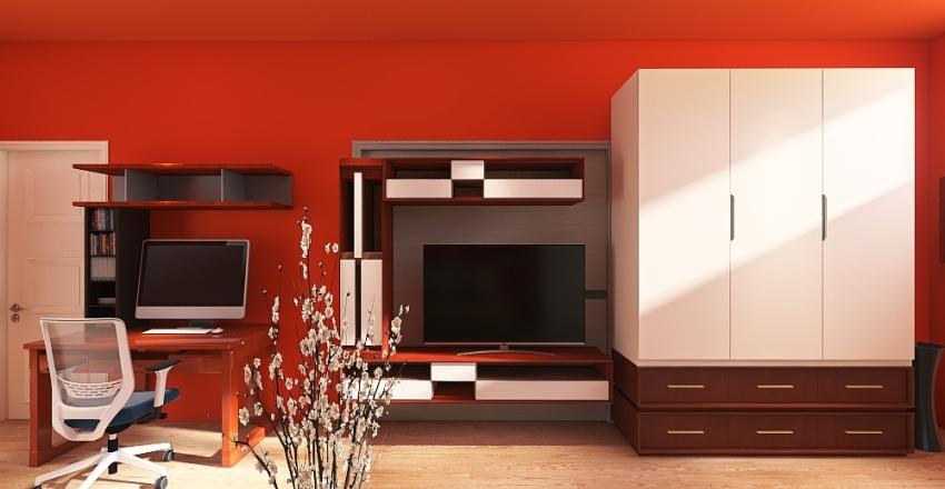 monolocale 12 Interior Design Render