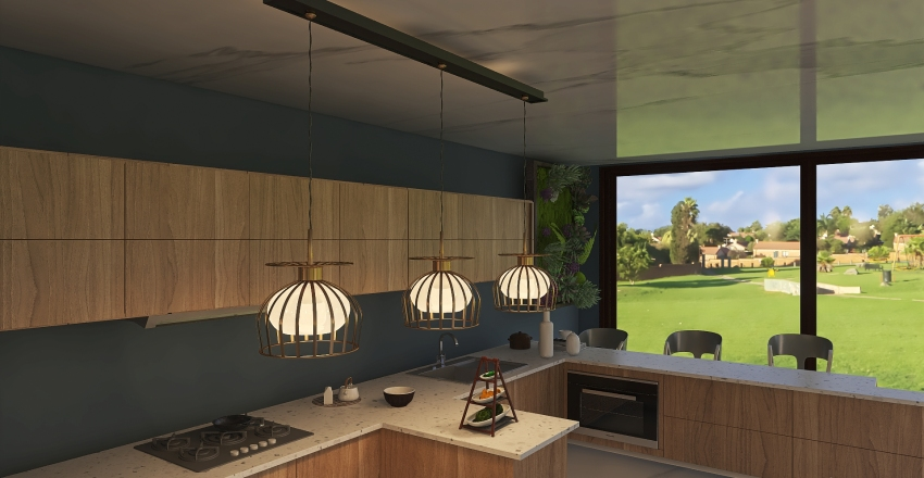 Twilight Gazebo Interior Design Render