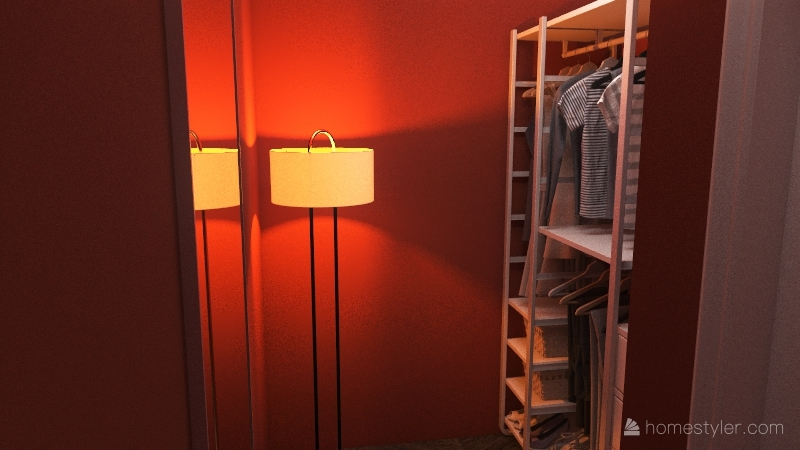 622 Apartment Interior Design Render