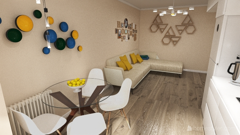 New line Interior Design Render