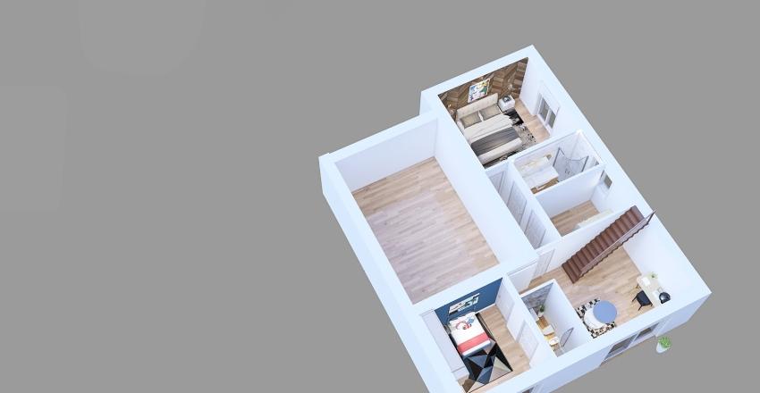 lilia villa Interior Design Render