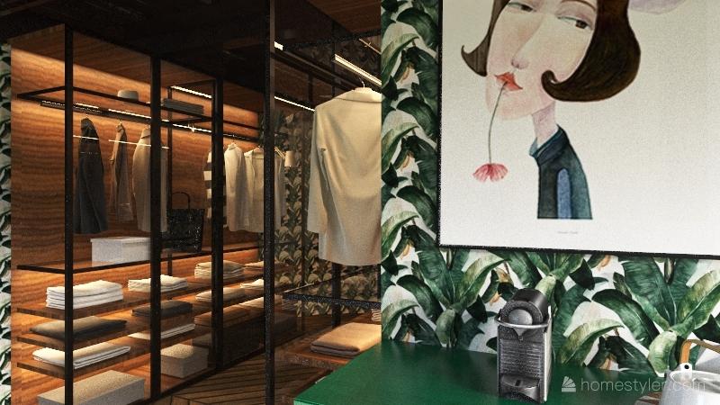 Amore suite Interior Design Render