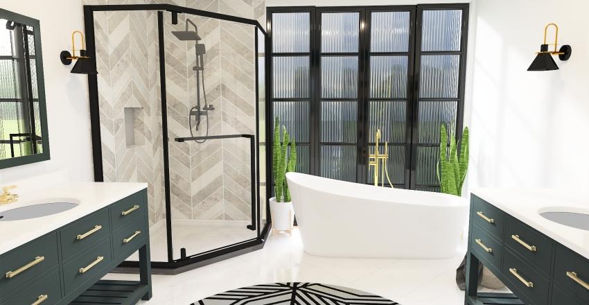 Terrence Bathroom Interior Design Render