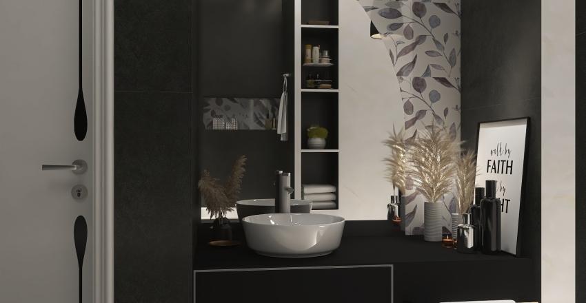 Bath room Interior Design Render