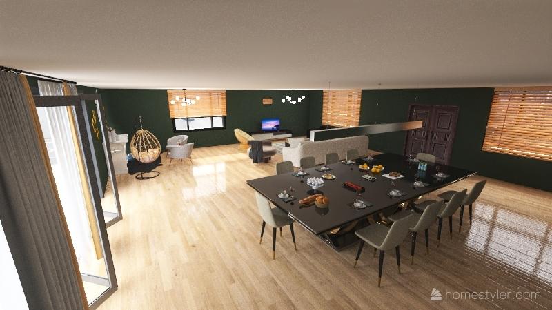 my home 2 Interior Design Render