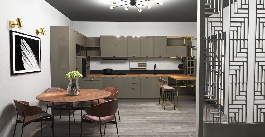 proiect ilbah loredana neagu Interior Design Render
