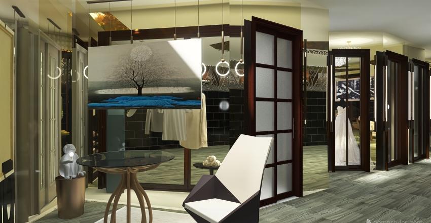 karen botique Interior Design Render