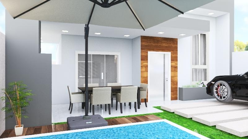 Proposta casa 6-4 Interior Design Render