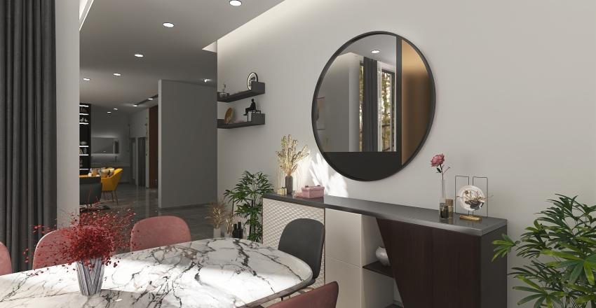 VILLA MR-ADEL-WOMEN'S DINNING ROOM Interior Design Render