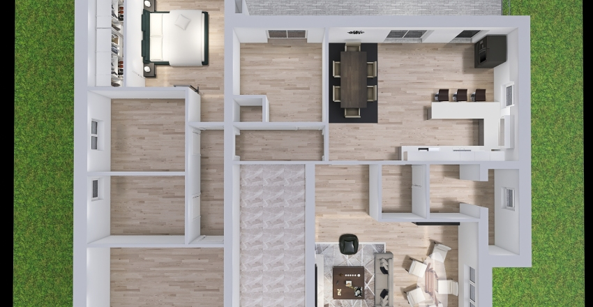 Cassano aggiornamento Interior Design Render
