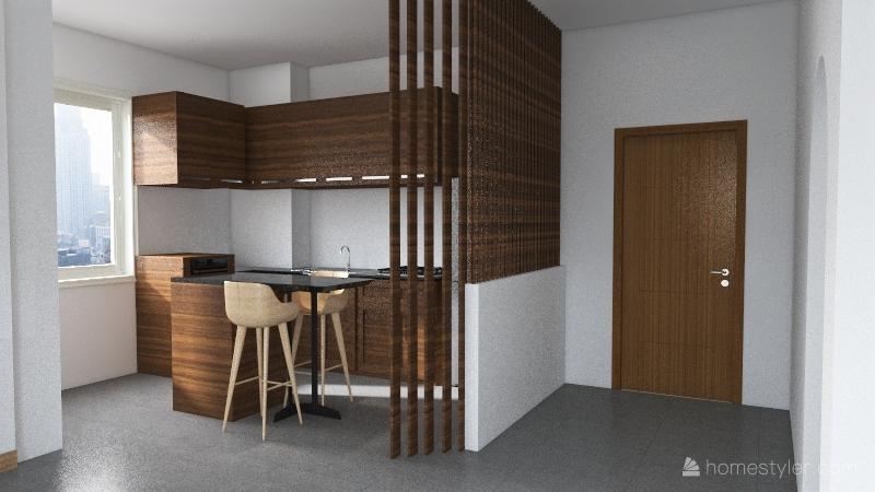 casa lambrate 2 - open 2 Interior Design Render