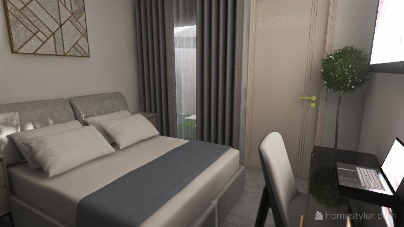 Proposta casa 6 Interior Design Render