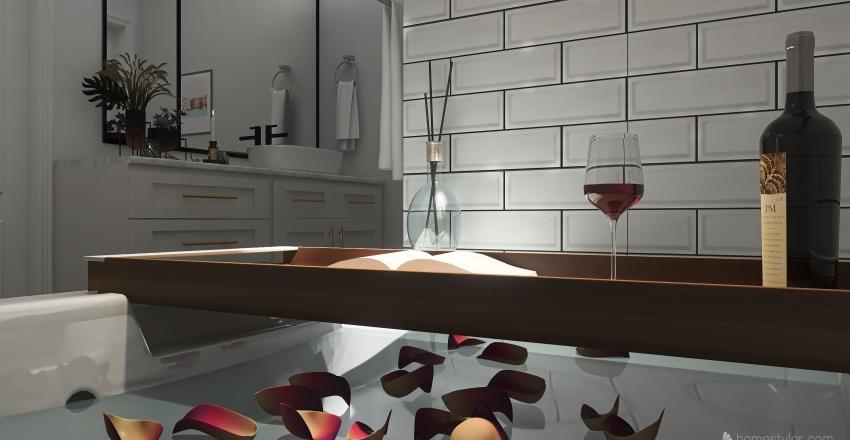 Farmington House Interior Design Render