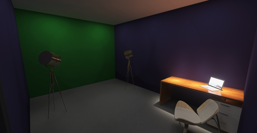 KBIC Office Plan Interior Design Render