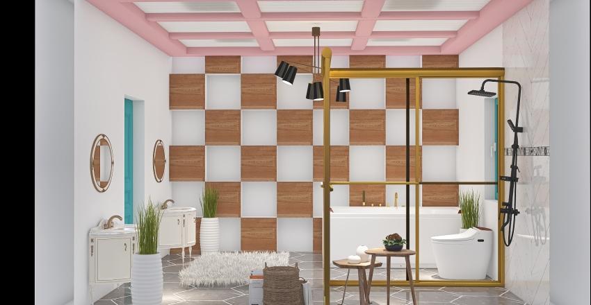 Dean Bathroom Interior Design Render
