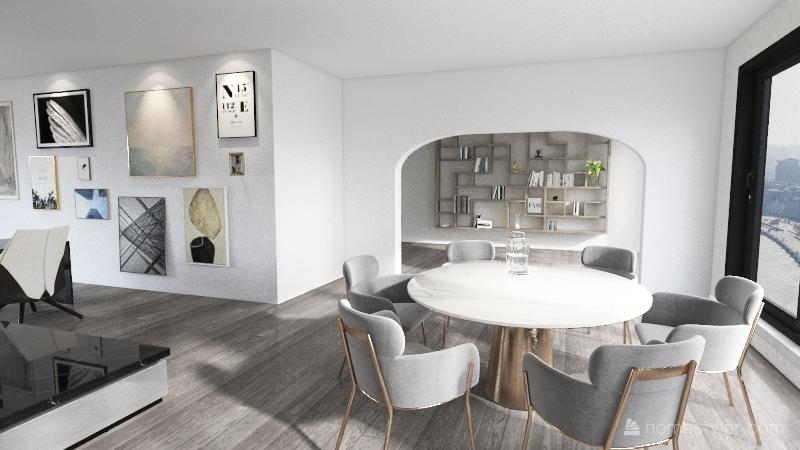 LivingArea Interior Design Render