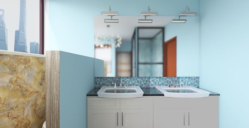 Henry dream Bathroom Interior Design Render