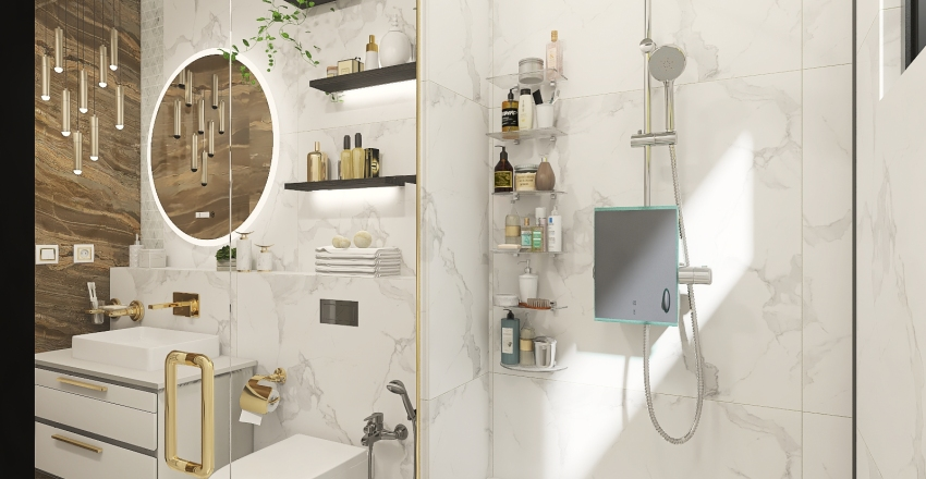 Copy of Copy of Copy of Modern Bathroom3 Interior Design Render