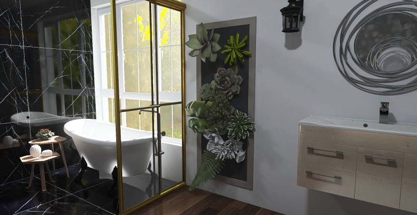 Astoria Bathroom Interior Design Render