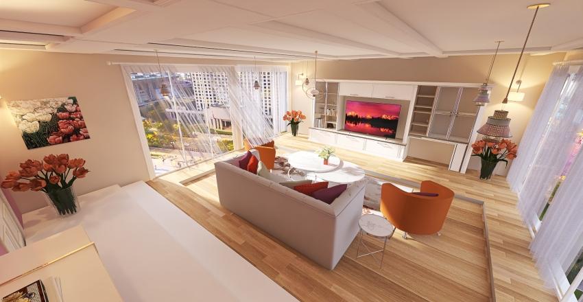 BLOSSOMS Interior Design Render