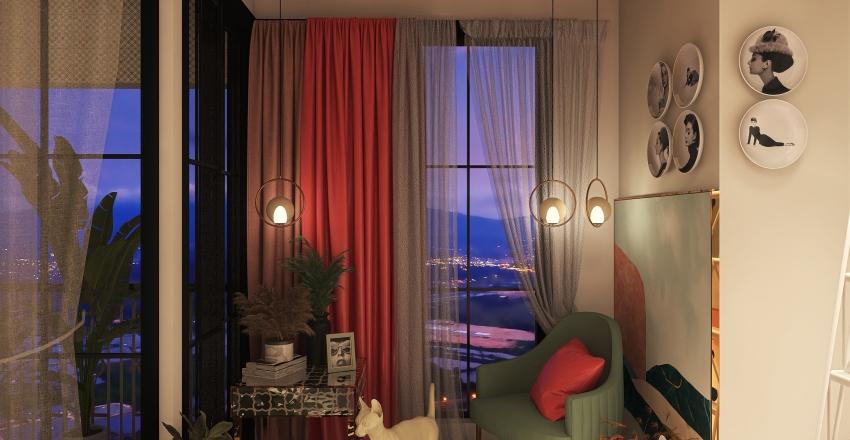 Reforma de mi habitación Interior Design Render