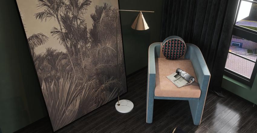 Art Deco Model Collection Interior Design Render