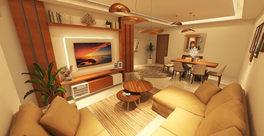 Apartment 2 Interior Design Render