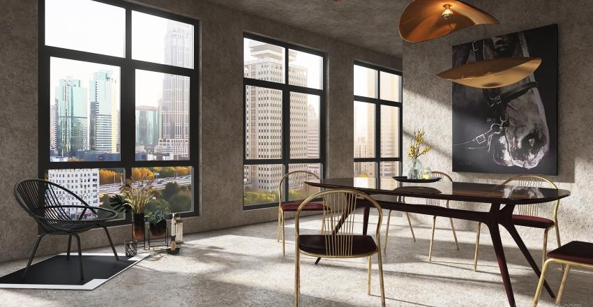 #HDSA2020RESIDENTIAL-appartment Interior Design Render