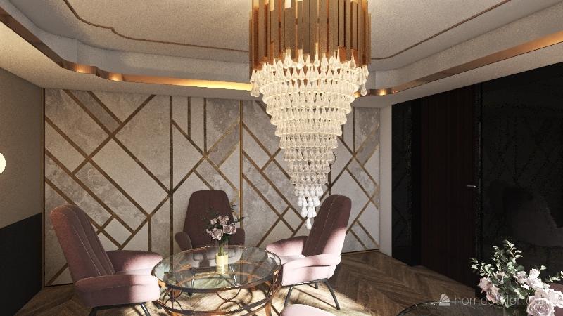 Coffe house Interior Design Render