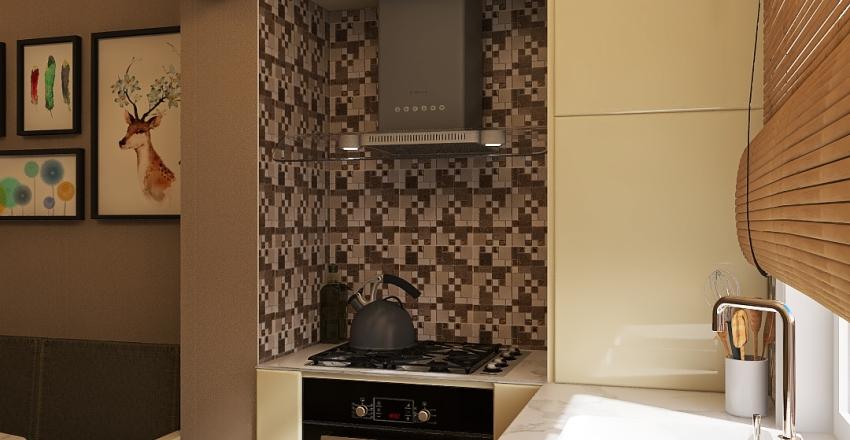 baku metbexi Interior Design Render