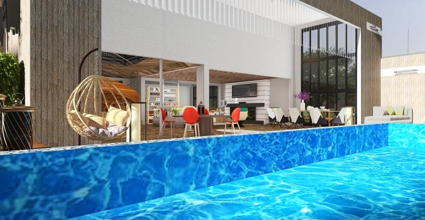 #HSDA2020 Residential Modern  Cottage Interior Design Render