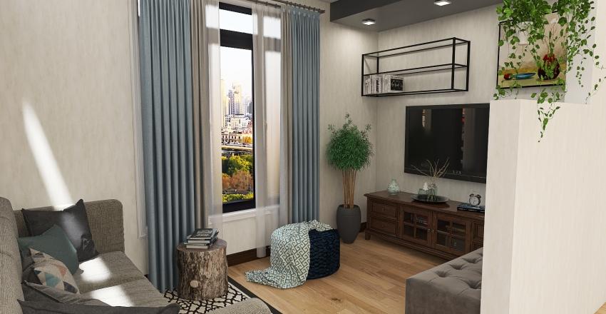 Pogi's Crib Interior Design Render