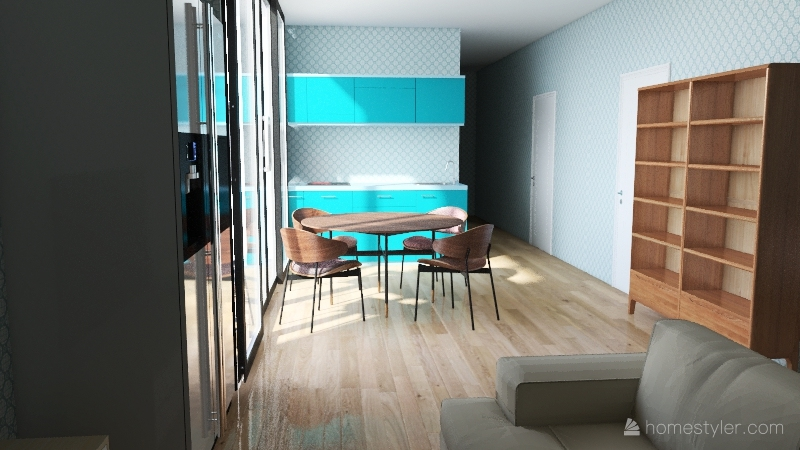 Jr Floor Interior Design Render