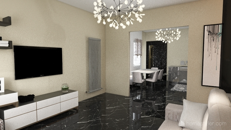 Villa Neve Interior Design Render