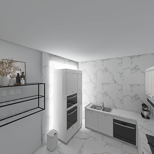 Byt komplet Interior Design Render
