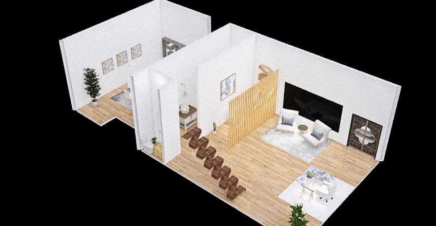 Espaço Comercial Interior Design Render
