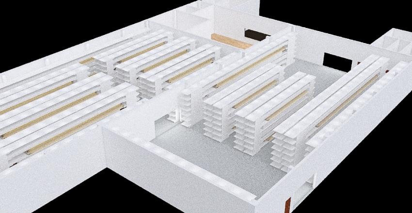 Traffi Warehouse Option 2 - 2.5 m aisles 2 Interior Design Render